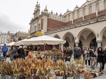 Jarmark Wielkanocny na Rynku Glownym w Krakowie