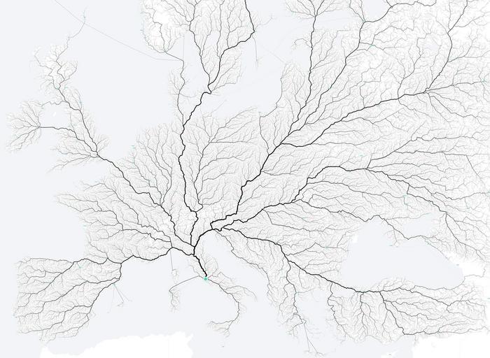 Rzym wszystkie drogi prowadzą do Rzymu moovellab