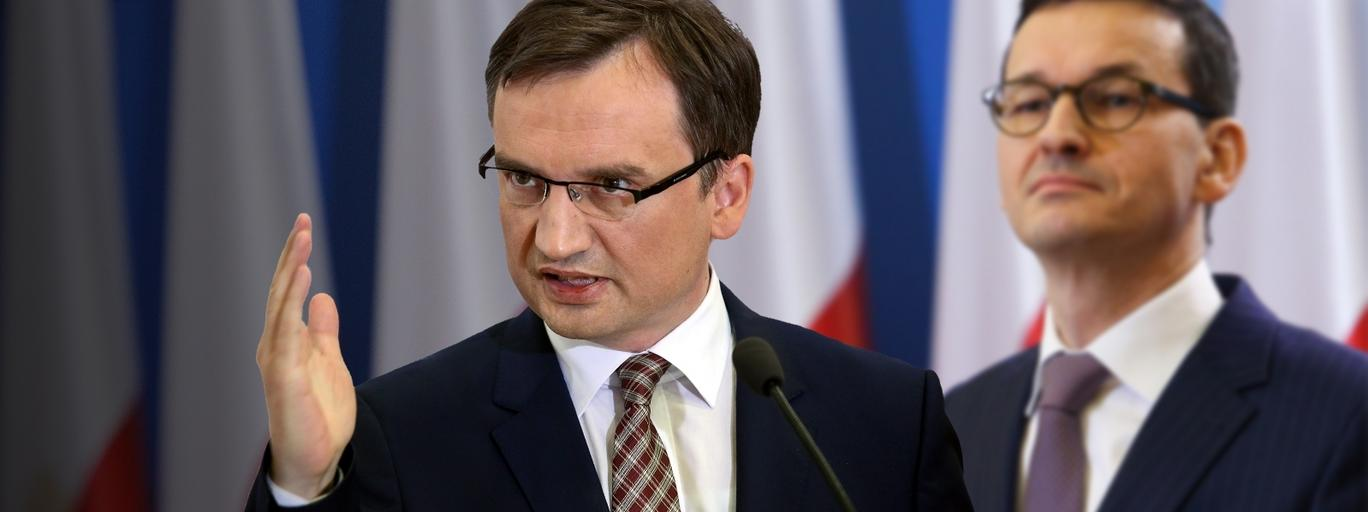 Zbigniew Ziobro Mateusz Morawiecki