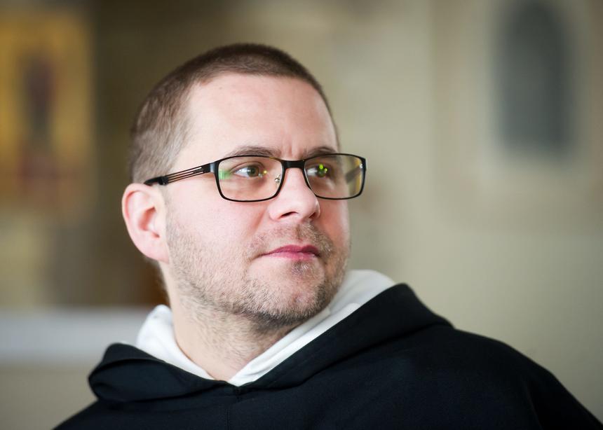 Przeor klasztoru oo. Dominikanów w Łodzi, rekolekcjonista, duszpasterz akademicki o. Paweł Gużyński