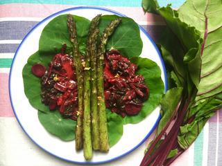 Przepisy na chrupiące szparagi