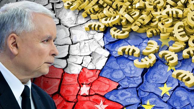 Jarosław Kaczyński Unia Europejska