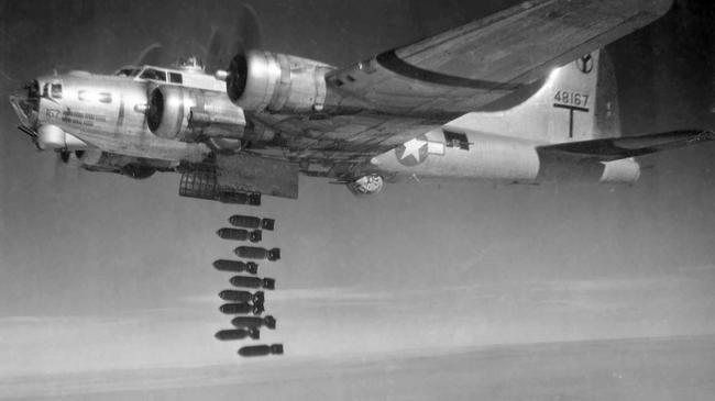 B-17 bombowiec B-17
