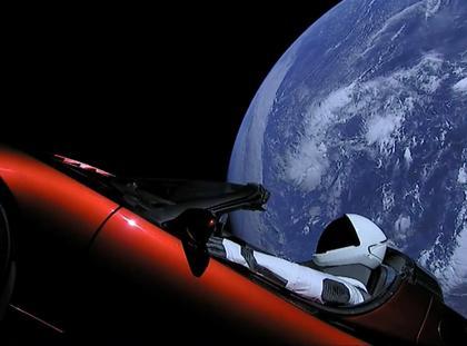 Tesla Falcon Heavy rakieta