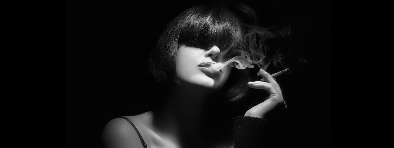 papierosy palenie kobieta marihuana