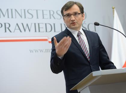 Zbigniew Ziobro minister sprawiedliwości prokurator generalny wymiar sprawiedliwości PiS Prawo i Sprawiedliwość polityka
