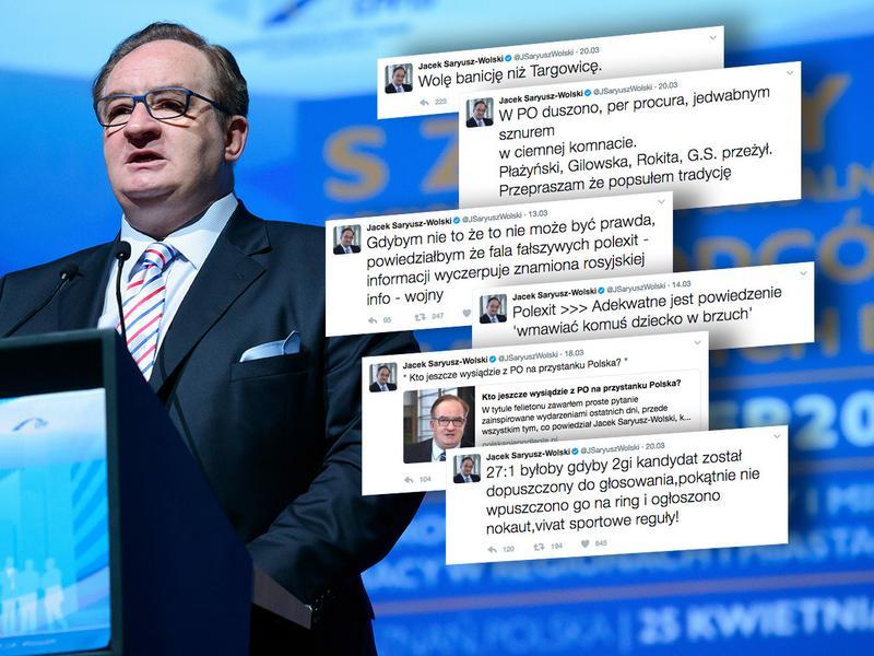Tweety Jacka Saryusza-Wolskiego