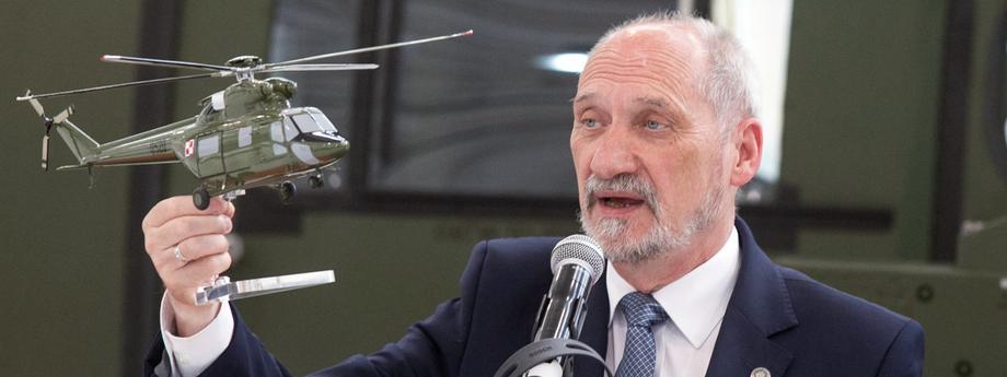 Antoni Macierewicz PZL-Swidnik armia wojsko śmigłowce