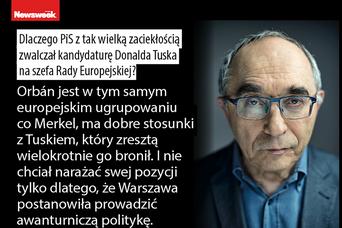 Smolar: Kaczyński marzył, by Tusk został upokorzony