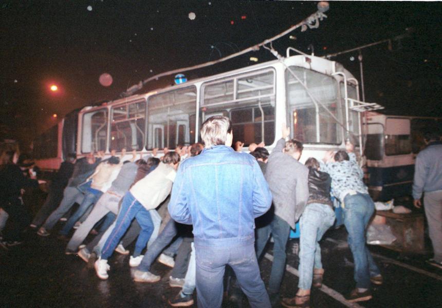 20 sierpnia 1991 r. Krwawe wydarzenia w okolicy ulicy Arbat w Moskwie.