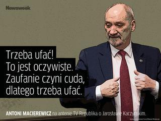 """""""Kaczyńskiemu trzeba ufać"""" bo... """"wolność jest niebezpieczna"""""""