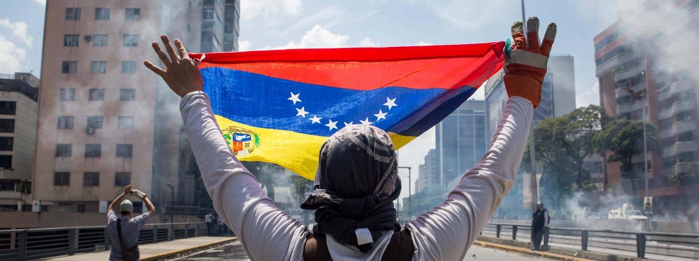 Protest Wenezuela
