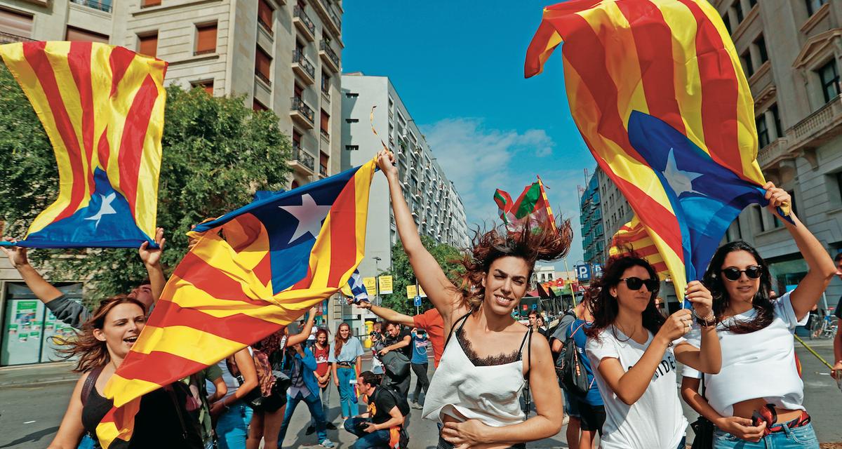 Katalonia się nie poddaje