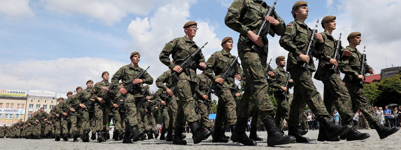 przysięga żołnierzy Obrony Terytorialnej
