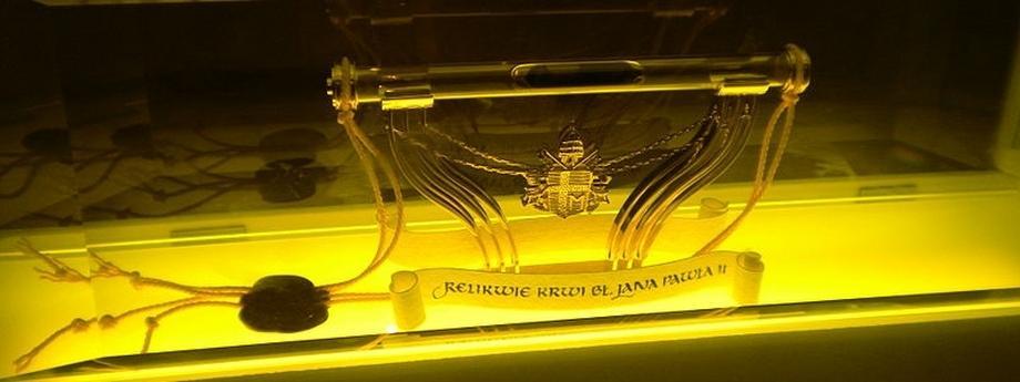 Jan Paweł II religia chrześcijaństwo Kościół katolicki Karol Wojtyła relikwie