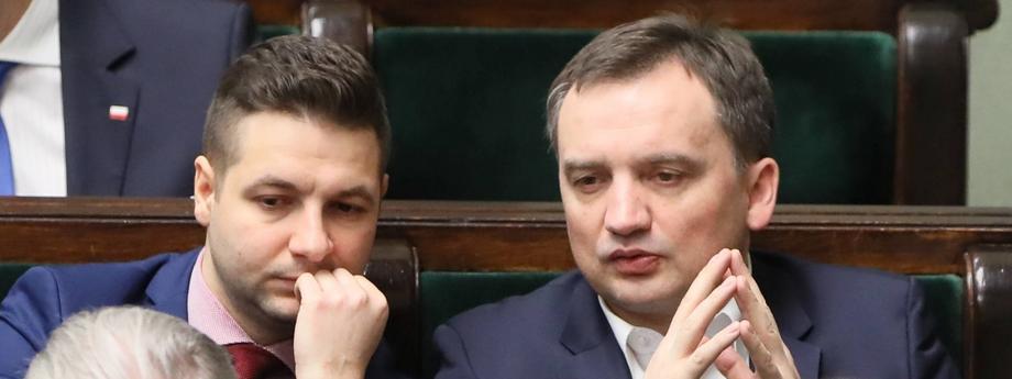 Zbigniew Ziobro Patryk Jaki Sejm polityka Prawo i Sprawiedliwość PiS Solidarna Polska