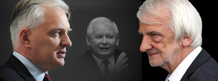Jarosław Gowin Ryszard Terlecki Jarosław Kaczyński