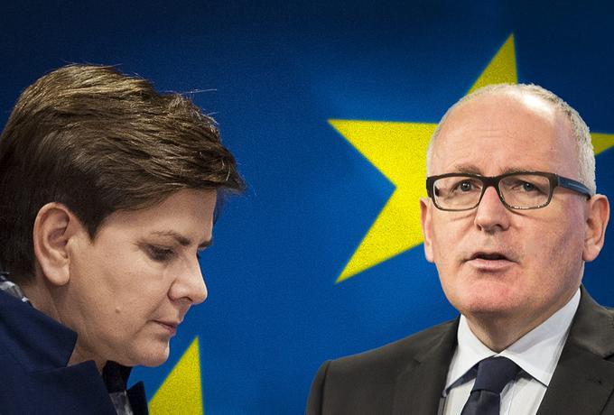 Nowe kłopoty rządu w Brukseli. Powód? Projekty PiS o sądach i KRS