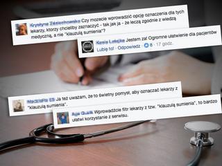 """Kobiety chcą wiedzieć, którzy lekarze kierują się """"klauzulą sumienia"""""""