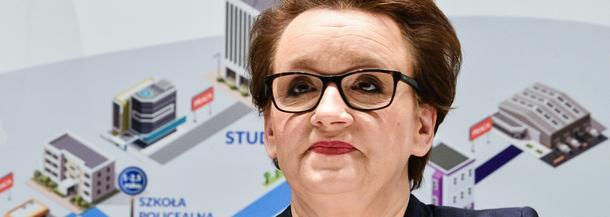 Minister Anna Zalewska na Pomorzu