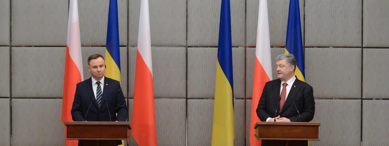 Andrzej Duda, Petro Poroszenko