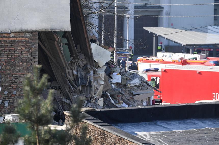 Zniszczona kamienica przy ul. 28 Czerwca w Poznaniu
