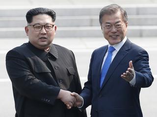 Historyczne spotkanie przywódców obu Korei