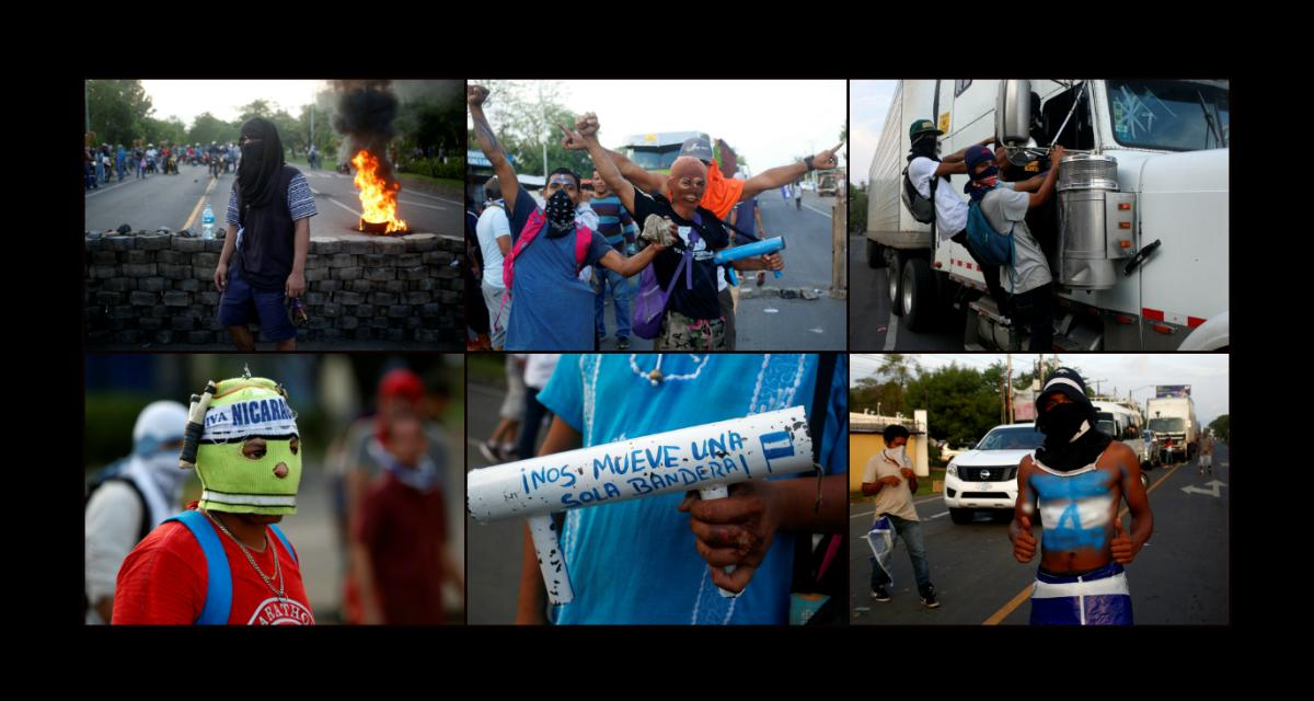 Nikaragua we krwi
