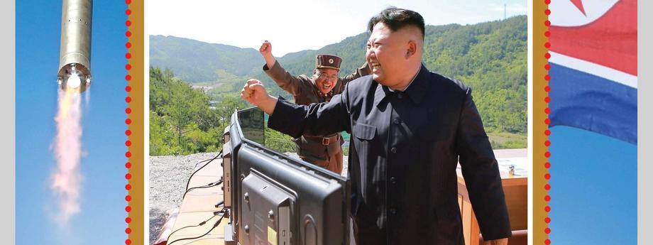 Korea Północna, znaczek, Kim Dzong Un