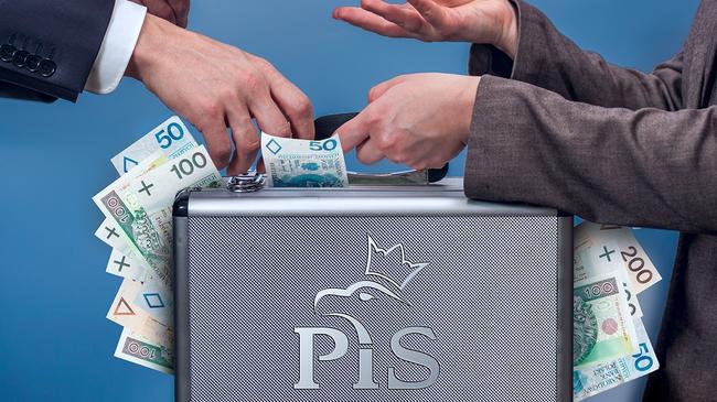 PiS pieniądze