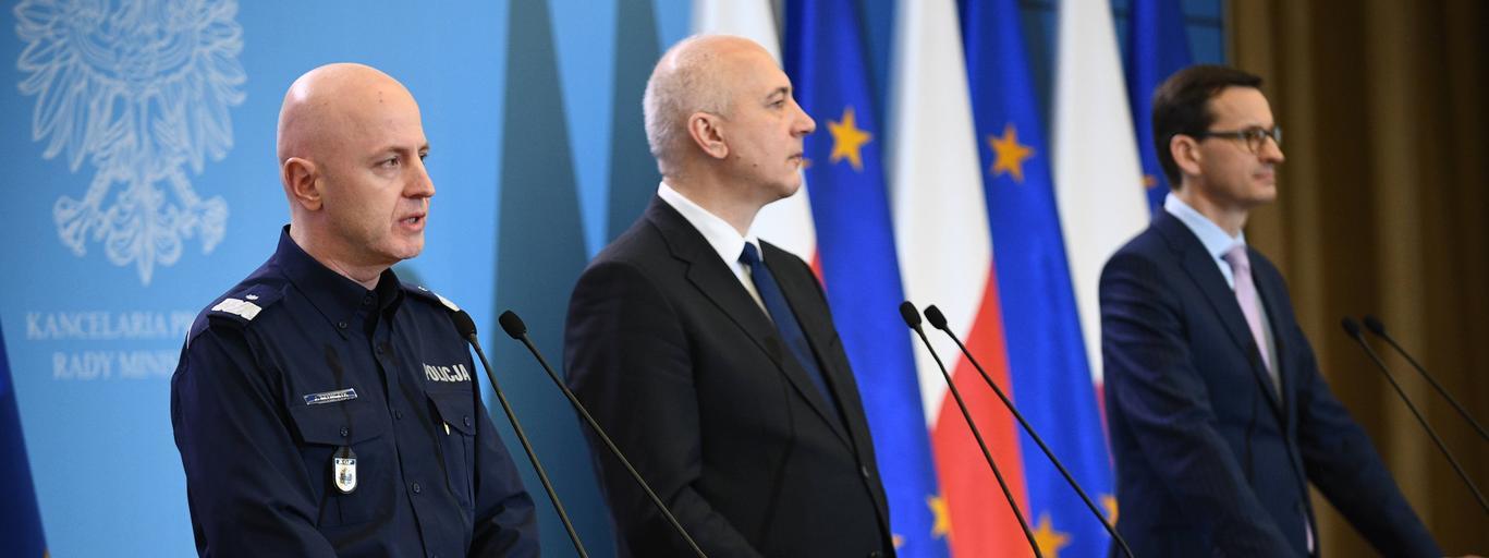 Mateusz Morawiecki, Joachim Brudziński, Jarosław Szymczyk