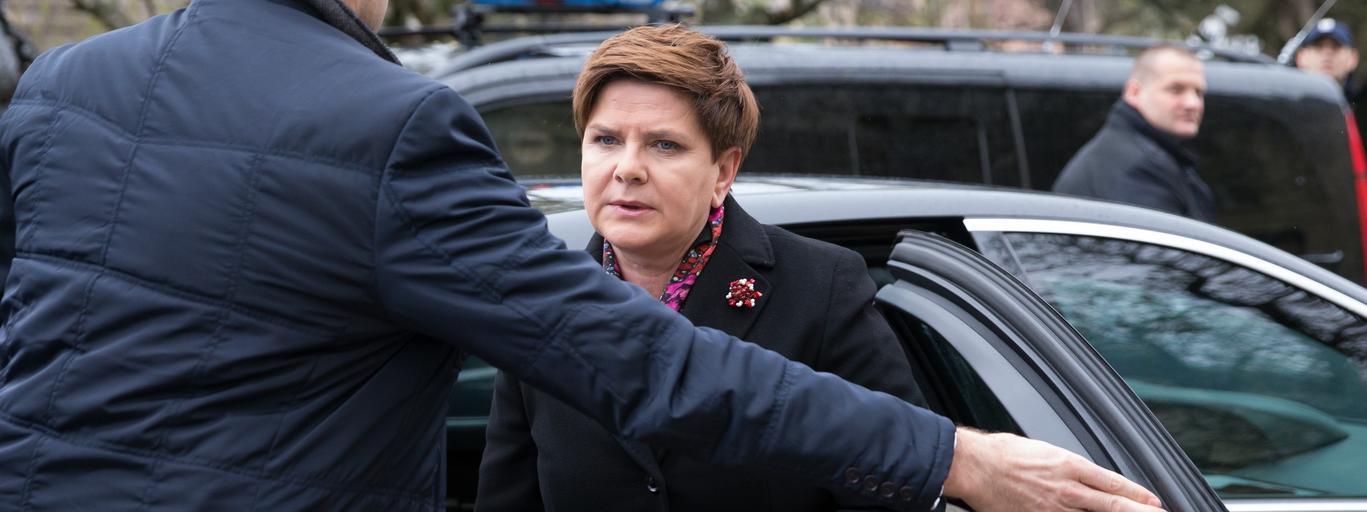 Beata Szydło BOR PiS polityka Prawo i Sprawiedliwość PBS