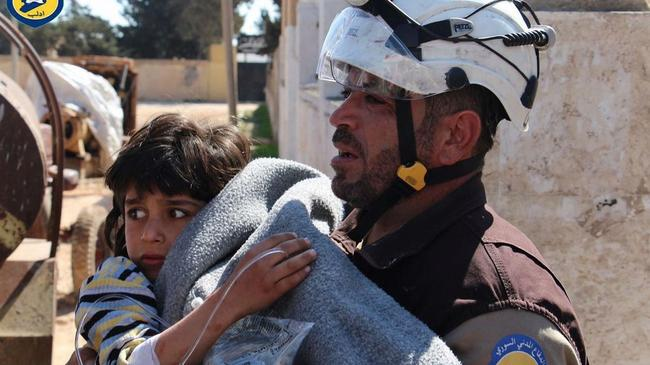 Syria Conflict: Chemical Attack in Idlib, Kills Children
