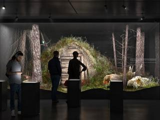 Muzeum Żołnierzy Wyklętych wizualizacja biura projektowego M.O.C Architekci