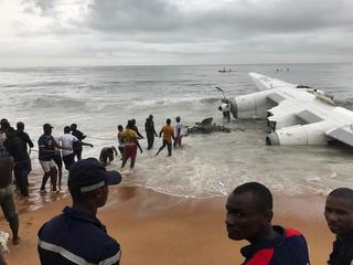 Katastrofa w Afryce: samolot runął do wody