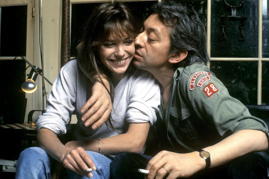 Serge Gainsbourg i Jane Birkin