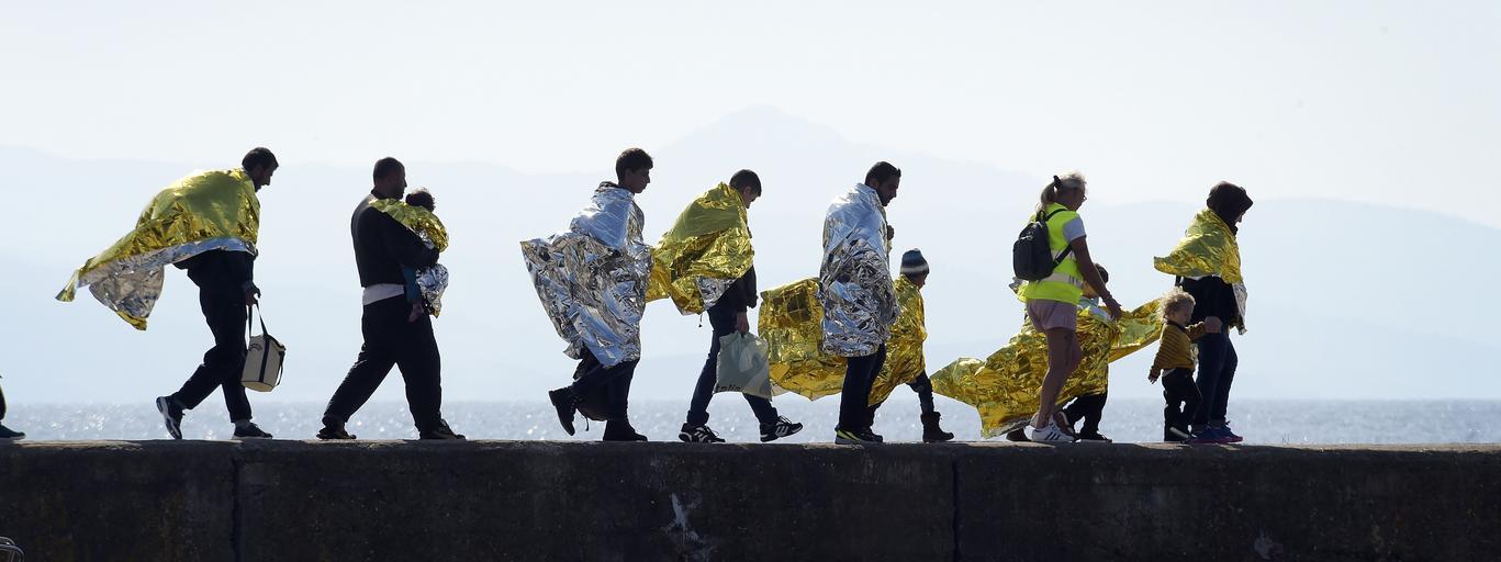 Imigranci uchodźcy Grecja Lesbos kryzys imigracyjny