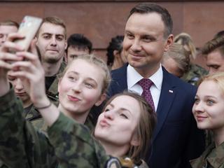 Wywrotka Andrzeja Dudy. Podczas pływania po Bałtyku prezydent spadł ze skutera