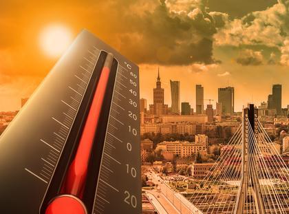 Wysoka Temperatura w Warszawie. Bardzo gorący montaż