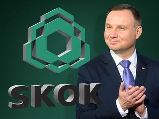 Prezydent nagradza za tworzenie SKOK-ów
