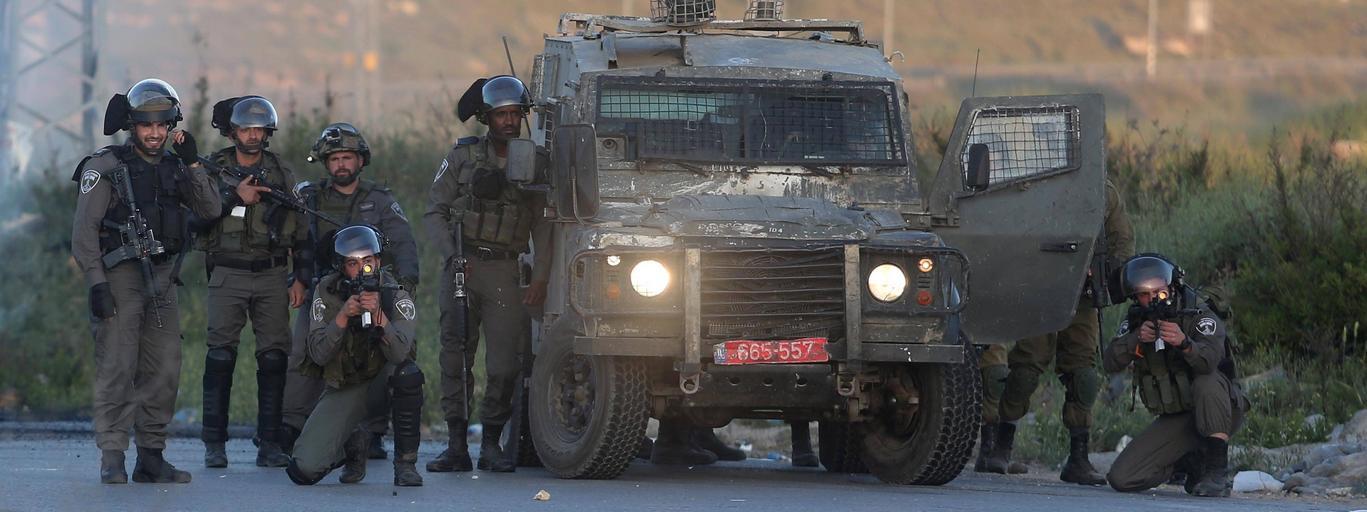 Izraelscy żołnierze użyli przemocy wobec protestujących Palestyńczyków.