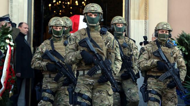 GROM armia wojsko żołnierze wojska specjalne