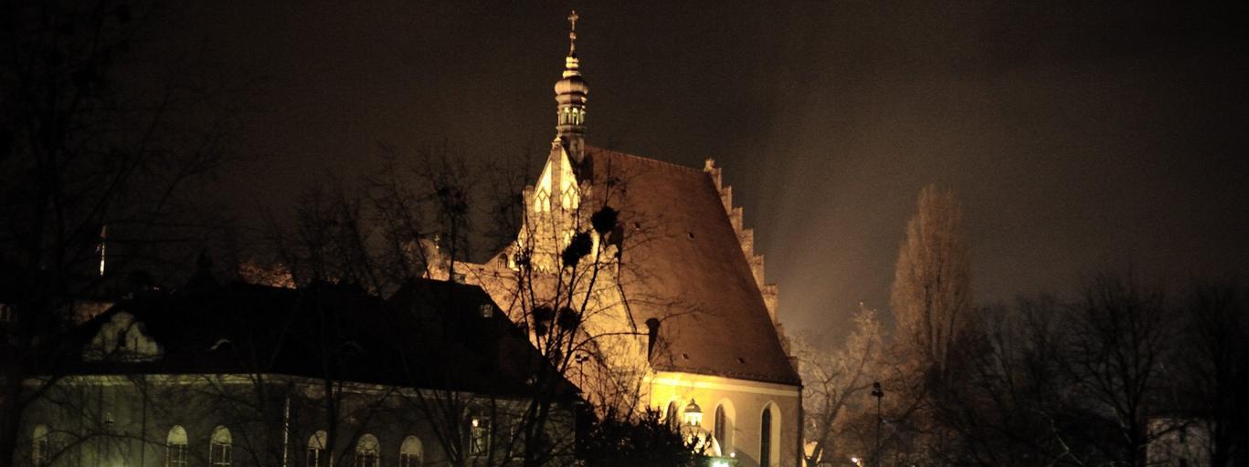 Bydgoszcz nocą