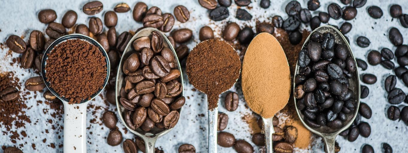 kawa ziarna kawy