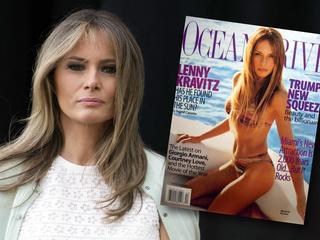 Od wybiegu do Białego Domu, tak zmieniała się Melania Trump. Czy zachwyciła Polskę? [GALERIA]