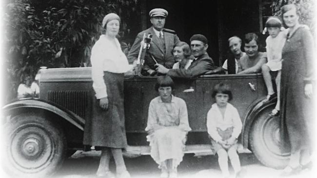 Rodzina Oskara Grużewskiego