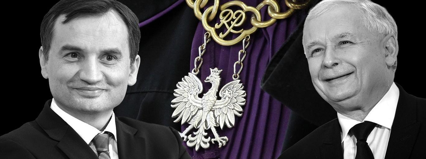 KRS ziobro kaczyński sądy