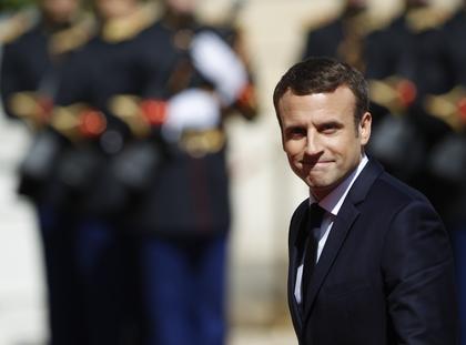 Emmanuel Macron Francja polityka