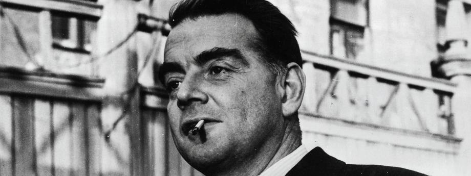 Cambridge educated Russian Spy Guy Burgess, associated with a group of Cambridge Univerty spies incl