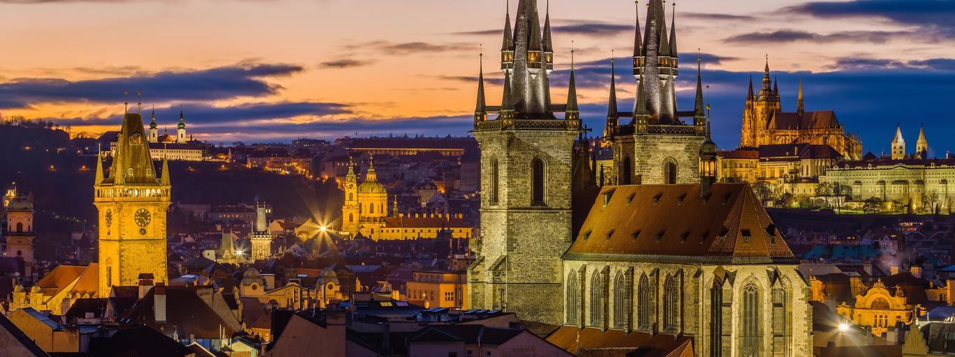 Praga Czechy podróże turystyka